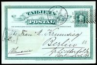 CHILE - COLUMBUS, TO GERMANY Postal Stationery 1906