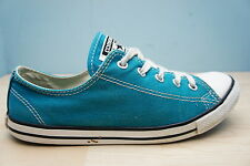 ce9a4f183d27 Converse Size 4 UK Womens All Star Turquoise Green Canvas Ladies Girls  Trainers