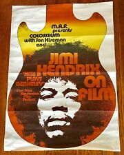Gunther Keiser Jimi Plays Berkeley Original Poster From Belgium + Free Ship