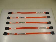 Dell SATA 9 inch Serial ATA SATA HDD Optical Hard Drive Cable Cord MD713 Lot 5