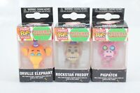 Funko Pocket Pop Keychain Pizzeria Simulator Vinyl Key Ring Lot Of 3