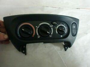 commande de chauffage de renault Megane 1 coupé  valeo (réf 5858)