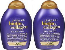 OGX Organix Shampoo Thick & Full Biotin & Collagen 13oz (2 pack )****