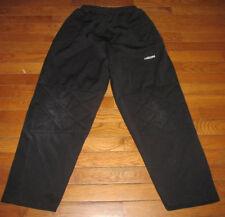 Mens Size M Medium 100% Polyester Padded Soccer Goalie Pants Lanzera Black