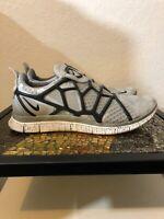 Nike Free Alt Closure Run 580532-001 Grey Metallic Silver/White Sz 7.5