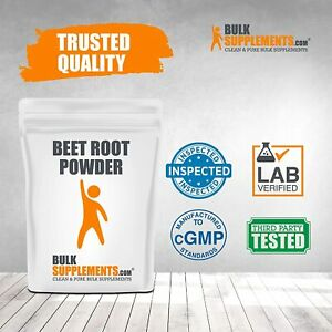 BulkSupplements Beet Root Powder (1 Kilogram - 2.2 lbs - 286 Servings)