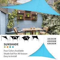 1 Stück dreieck sonnenschirm Segel wasserdicht baldachin terrasse Abdeckung HS