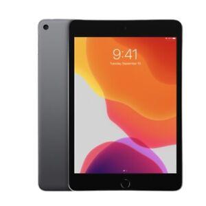 Apple Ipad Mini Wi-Fi + Celluar 64gb MUY12LL/A Space Gray Newest Version Bundle
