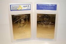 CHARLES BARKLEY 1986 Fleer ROOKIE 23KT Gold Card Graded GEM MINT 10 * BOGO *