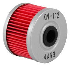 K&N KN POWERSPORTS MOTORCYCLE OIL FILTER KN-112 HONDA KAWASAKI