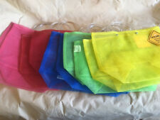 Mexican Market Bag - ONE Medium - Mesh - Four Color Options! - 14 x 11 x 6