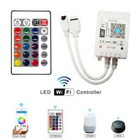 WiFi Smart LED Strip Light Controller RGB IR Remote Control Alexa Google Home