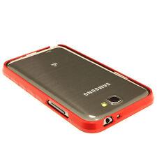 Samsung Galaxy Note 2 N7100 Alu Aluminium Bumper Case Cover schale rot