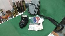 VINTAGE MIRANDA FLASH ATTACHMENT WITH CASE AND MANUAL WORKING