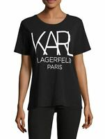 KARL LAGERFELD Big Karl Graphic T-Shirt Brand New Collection