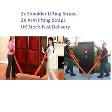 Forearm Forklift Easily Carry Heavy Bulk Lifting Straps Furniture Moving Belt UK