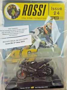 ROSSI BIKE COLLECTION 2020 1: 18 SCALE MODEL DIECAST = # 24 - YAMAHA YZR-M1