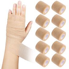 10PCS 2''x5 Yards Self Adherent Cohesive Bandage Gauze Medical Wrap FDA Approved