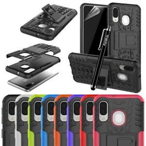 For Samsung Galaxy A40 A50 A70 A30 A10 Phone Case Hybrid Shockproof Armor Cover