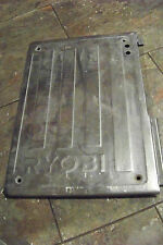 "Ryobi WS7211 7"" Tile Saw Parts -- work table side with name"