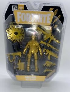 FORTNITE MIDAS HOT DROP FIGURE GOLD WEAPON PACK 2021 SOLO MODE