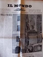 IL MONDO 502 (1958) Ugo La Malfa, Legge Merlin, Santa Margherita Ligure