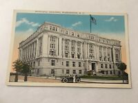 Vintage Postcard Unposted Municipal Building Washington DC