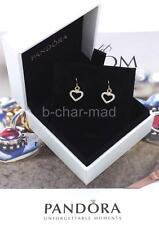 PANDORA | GENUINE 14ct Diamond Heart 'Be My Valentine' Compose Earrings: 250433D