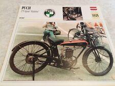 Ficha de moto colección Atlas motorbike Puch 175 sport Harlette 1925