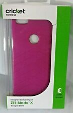 Cricket Wireless ZTE Blade X Designer Shield Screen Protector Included Pink