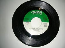Funk 45 Fatback The Girl Is Fine (So Fine) (2 Versions)  Spring  VG+ 1983