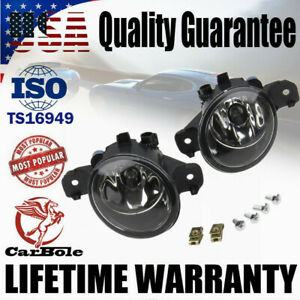 Pair Fog Light Lamps w/ H11 Halogen Bulbs Assembly For Nissan Altima Infiniti