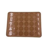 Nouveau Cuisine  Silicone Pâtisserie Gâteau Macaron Chocolat Moule Drap Tapis