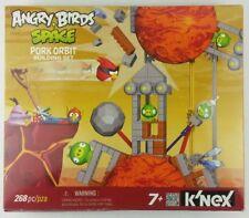 K'nex Angry Birds Space Pork Orbit Building Set Green Pig 72550 In Box