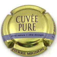 MIGNON  PIERRE  N°125c  Cuvée PURE , OR , Petite Barre MAUVE PâLE