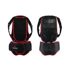 Men's Motorcycle Body Armor Vest Jacket Spine Chest Protection Riding Gear SE
