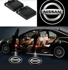 2 Pc Wireless Magnetic Car door Logo Light Shadow  Light Projector For NISSAN