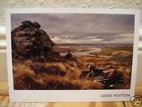 Louis Vuitton Karte mit Motiv: Monogram Koffer, Trunks, Gebirge, Outdoor, LV NEU