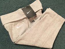 NWT Nike Girls Size 6 Heather Gray/White Leggings Capri Pants