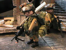 PLAYMOBIL CUSTOM SOLDADO ISRAELI (FDI)(FUERZA DE DEFENSA ISRAELI) REF-0204 BIS