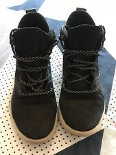 Timberland Women's Nellie Chukka Double Sole Waterproof Black Boots Shoes A12PK