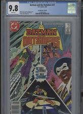 BATMAN AND THE OUTSIDERS #21 MT 9.8 CGC CANADIAN PRICE VARIANT HIGHEST 1 OF 1