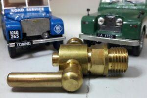 "Radiator Engine Block Drain Tap Brass 243237 1/4"" BSP Austin Healey MGA"