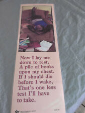 "New Vintage 1986 ""Monkey Prayer""? Humorous By Russ Posters Motivational Phrases"