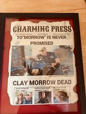 Clay Morrow Ron Pearlman Sons Of Anarchy News Print.