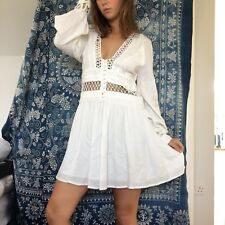 Unique white summer dress from Free People. Originally bought for £150