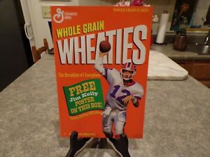 wheaties jim kelly poster mint from 1993