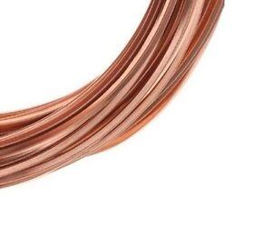 Copper Square Wire (Dead Soft ~ Half Hard) choose Size Length, 99.9% Pure Copper