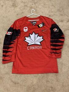 Mens (S) Team Canada 2018 Olympics Nike Authentic Hockey Jersey NWT $130
