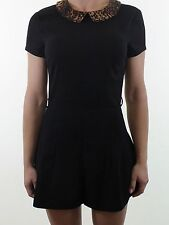 TopShop Women's Collared Short Sleeve Jumpsuits & Playsuits